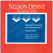 Nelson-Denny-Reading-Test